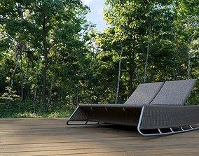 MILLE BEACH-POOL BED 3D model