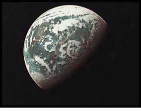 Planet Lethe 3D asset