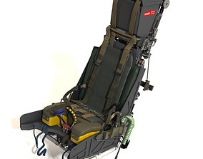 3D model Martin baker Mk10 Ejection Seat