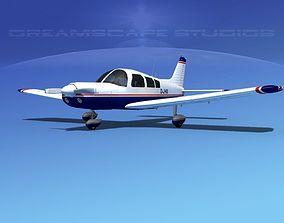 Piper PA-28 V01 3D