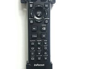 InFocus - Remote Control Wall Holder 3D printable model