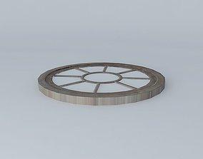 3D model Round mirror MIRAGE Maisons du monde