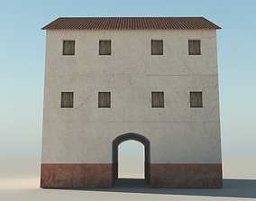 Roman Apartment Building 3D model