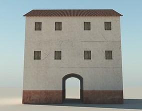 Roman Apartment Building 3D model