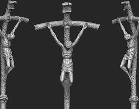 3D print model Papal Ferula Crucifix