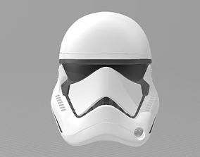 Star Wars The Last Jedi TLJ Storm trooper 3D print model 1