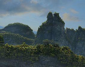mountain peak 3D