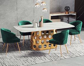 3D Dining Room Interior 233
