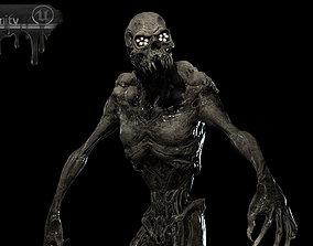 Monster Mutant 8 3D asset animated