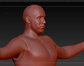 Vin Diesel - Dominic this is Brazil 3D printable model 3