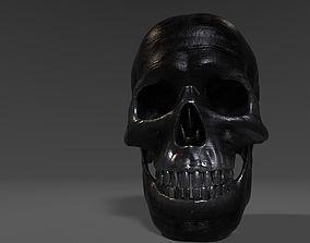 3D model Iron Skull