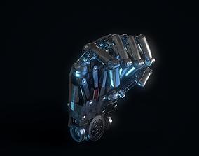 3D model Humanoid Robotic Hand