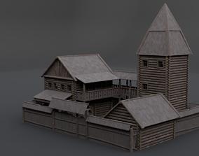 Medieval Mansion 3D model