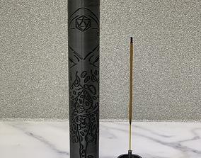 3D printable model incense holder by TITAN Corporation