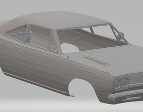 Plymouth Roadrunner Printable Body Car
