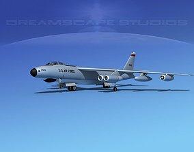 3D Boeing RB-47E Stratojet V01