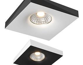 01100x Miriade Lightstar recessed spotlight 3D