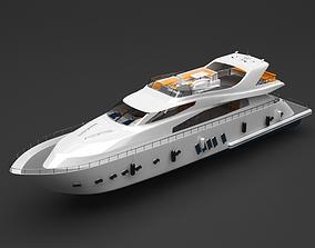 3D Private boat