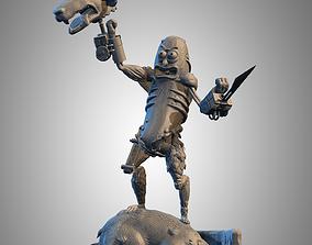 figurines 3D printable model pickle rick