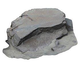 3D model Altay rock scan 11