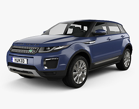 3D model Land-Rover Range Rover Evoque SE 5-door 2015