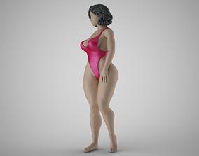 3D print model Sand Lover Girl