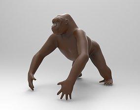 GORILLA western 3D printable model