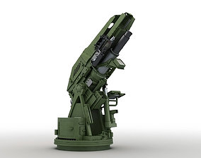 Modern Mortar System 3D model