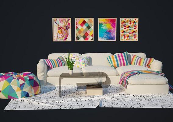 New Look interior Room 3D models