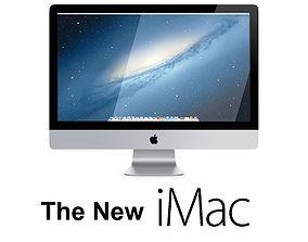 The New iMac 2013 2014 3D model