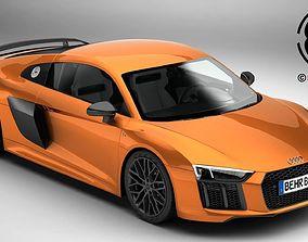 3D Audi R8 V10 Plus 2016