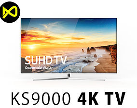 Samsung KS9000 55 Inch SUHD 4K TV 3D model