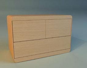 Commode modern wooden 3D