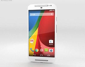 3D Motorola Moto G 2nd Gen White
