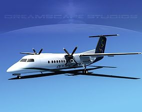 DeHavilland DHC-8-Q300 Olympic 3D model