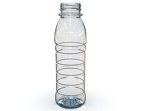 PET Bottle PCF - 38P - 1 - Round 330 mL - for 3D model 3