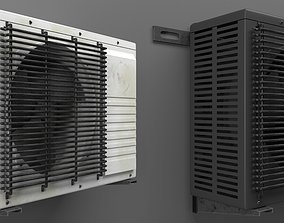 3D Air Conditioner Outdoor Unit
