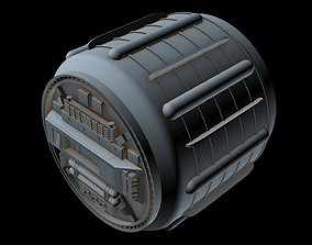 3D Starship part 49