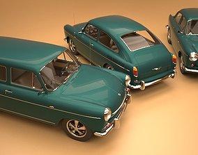 3D model Volkswagen Type 3