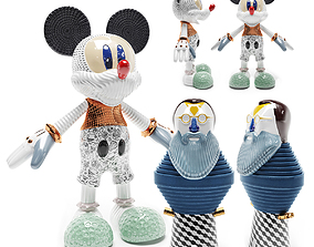 3D model Sculptures Bosa Mickey Forever Young