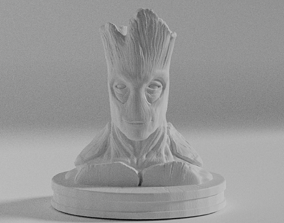 Groot Bust 3D Model for Printing