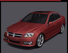 3D asset Generic Car - D Segment