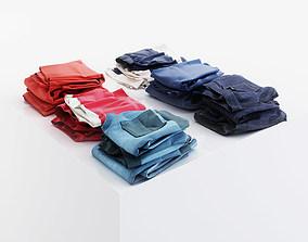 Various pants 3D