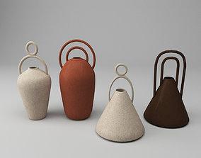 Decorative vases decoration 3D