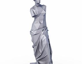 3D model Venus de Milo Low Poly