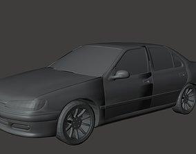 3D model Peugout 406