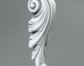 Decorative Corbels architectural 3D model