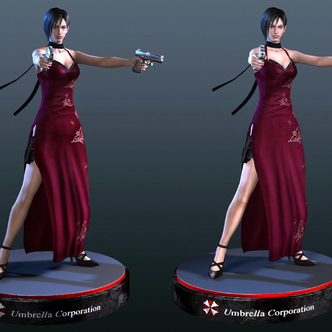Ada Wong Resident Evil Mods - Gta5 Players - 9GtaMods.com