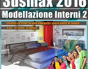 010 3ds max 2016 Modellazione Interni 2 v 10 cd