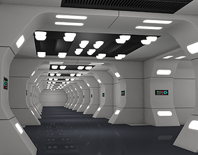 3D Modular Sci Fi Interior